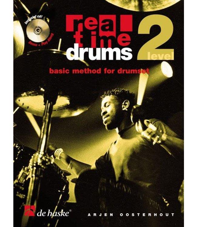 de Haske Real Time Drums lesmethode deel 2 incl. 2x CD
