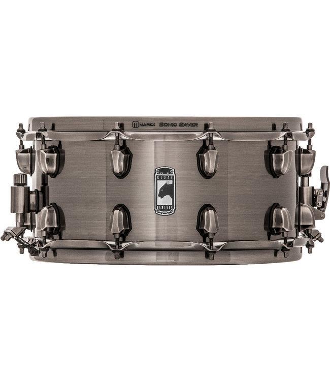 "Mapex Black Panther Machete Snare Drum BPST4651LN - 14"" X 6.5"" - STEEL"