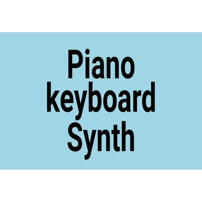 Piano, Keyboard, Synth