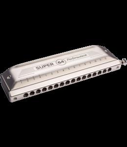 Hohner M758501 Mondharmonica, Super 64 Performance, C, Type 2018 shopmodel