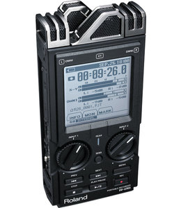 Roland R-26 3 way field recorder 3x stereo opnames shopmodel