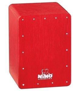 Meinl Mini cajon shaker NINO955R Red