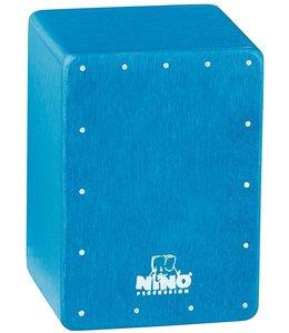 Meinl Mini Cajon shaker NINO955B blue