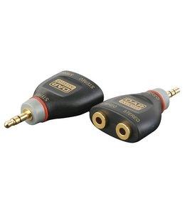 DAP XGA15 - verloop Mini stereo Jack Male > 2 X Mini stereo jack female