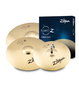 Zildjian Cymbal set, Planet Z, pack of 4, 14H/16Cr/20R ZP4PK