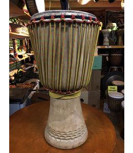 Booba Percussion Djembe Afrika Guinee Melina  29.5 x 61.5cm