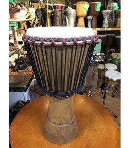 Booba Percussion Djembe Afrika Guinee Iroko 29 x 61cm