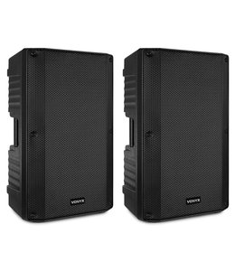 """VONYX VSA150S ACTIVE STEREO SPEAKER SET 15"""" with bluetooth"""