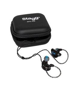 Stagg SPM-435 TR 4-Driver In-ear monitors Black inear