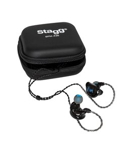 Stagg SPM-435 TR 4-Driver In-ear monitors Transparant inear