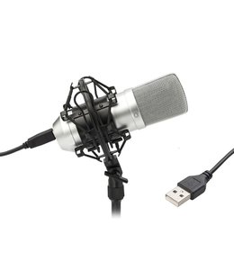 VONYX CM300S USB Studio microfoon Titanium