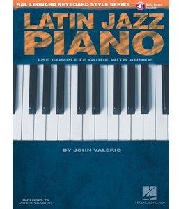 Hal Leonard Latin Jazz piano by John Valeria incl. CD