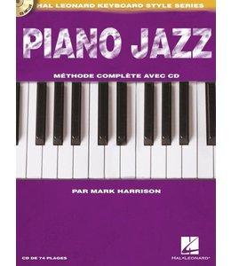 Hal Leonard Piano Jazz par Mark Harrison incl. CD