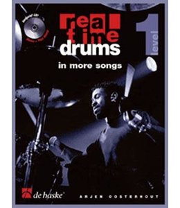 de Haske Real Time Drums in more songs lesmethode deel 1 incl. CD