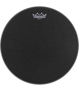 REMO BX-0814-10 Black X + Black Dot Bottom 14 inch  Emperor Ebony drumvel