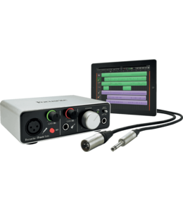 Focusrite ITRACK-SOLO-LIGHTNING voor iphone en ipad