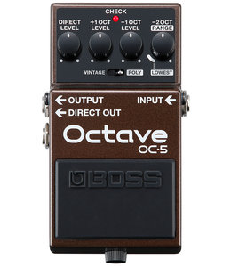 Boss OC-5 Octave gitaar effects