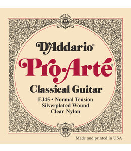 Daddario EJ45 Normal Tension Pro Arte Classical Guitar Strings