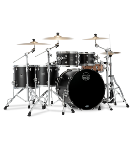 Mapex MXSR628XUFB Saturn Stage+ Ketelset, Shellset, , Satin Black #FB