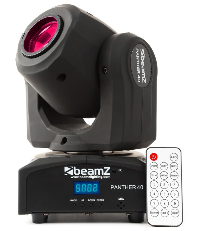 Beamz Panther 40 Led Spot Moving Head