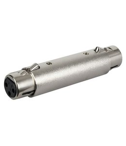 DAP FLA221 verloop, adapter  XLR female - XLR female