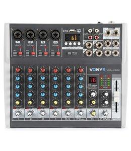 VONYX VMM-K802 8-Kanaals Muziekmixer met DSP