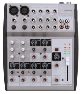 PD Power Dynamics PDM-L1002 Music mixer 10 channel