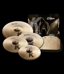 Zildjian ZIKS5791 Cymbal set, K Zildjian, K Sweet Cymbal Pack, 15H/17+19Cr/21R