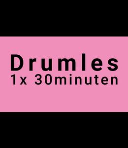 Busscherdrums 1x Drumles 30 minuten individueel