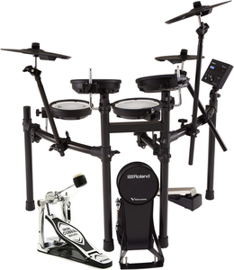 Roland TD-07KV  V-drums elektronisch drumstel + Footplate bassdrumpedal