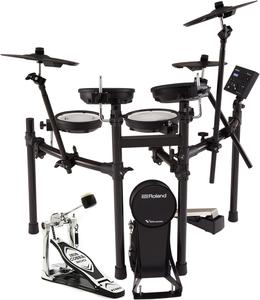 Roland TD-07KV  V-drums elektronisch drumstel + Tama bassdrumpedal