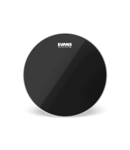 Evans Copy of TT12CHR  Evans Black Chrome Drum Head, 12 Inch