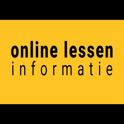 Online lessen info