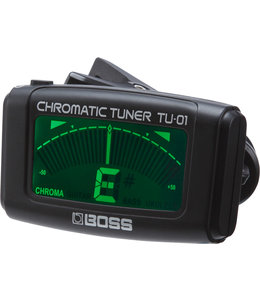 Boss Boss TU-01 Chromatic Tuner clip-on