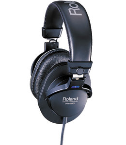Roland RH-200 hoofdtelefoon closed black