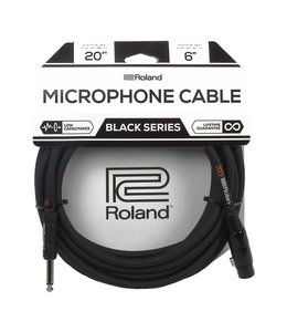 Roland RMC-B20-HIZ Black Series Microphone Cable XLR female - jack
