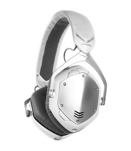 V-MODA XFBT-WS Crossfade Wireless-Kopfhörer Weiß Silber