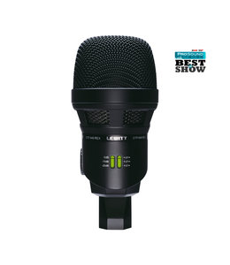 Lewitt DTP 640 REX dual dynamic + condensator kick bassdrum microfoon