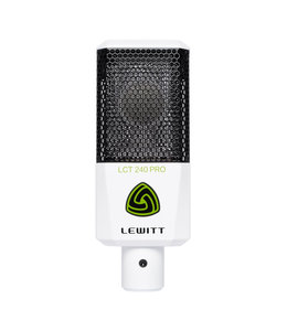 Lewitt LCT240 PRO microfoon - wit condensator studio bundle