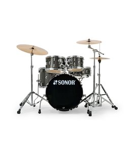 "Sonor AQX 22"" Black Midnight Sparkle Stage Set drumstel"