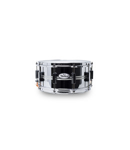 Pearl snaredrum Sensitone Duoluxe DUX1465BR/405 Chrome over Brass 14x6""