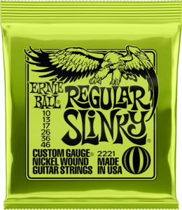 Ernie Ball 2221 Sets - Regular slinky 10-13-17-26-36-46
