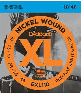 Daddario EXL110 snaren Regular Light elektrisch 010