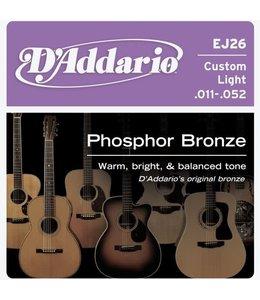 Daddario EJ26 Western 011-052 gitaarsnaren