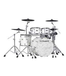 Roland VAD706 V-Drums Acoustic Design Pearl White Premium Finish
