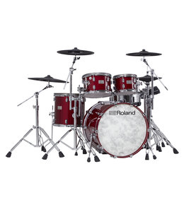 Roland VAD706 V-Drums Acoustic Design Gloss Cherry Premium Finish