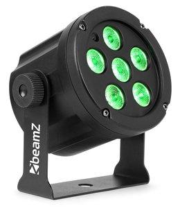 Beamz Slimpar 30 6x 3 watt RGB
