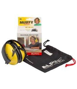 Alpine Muffy Kids Smile Geel oorkappen kinderen