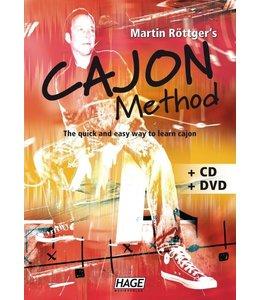 Cajon Methode  Martin Rottger +CD +DVD