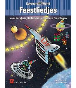 de Haske Keyboard World Feestliedjes kerst, sinterklaas, feestdagen